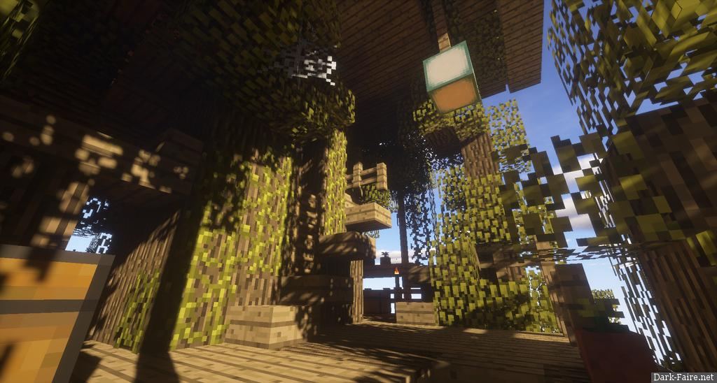 Ancient Oak Treehut - Capitan7Titus